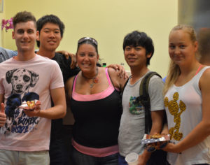 Students from our Intensive English course