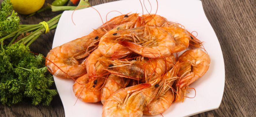 English vocabulary: shrimp